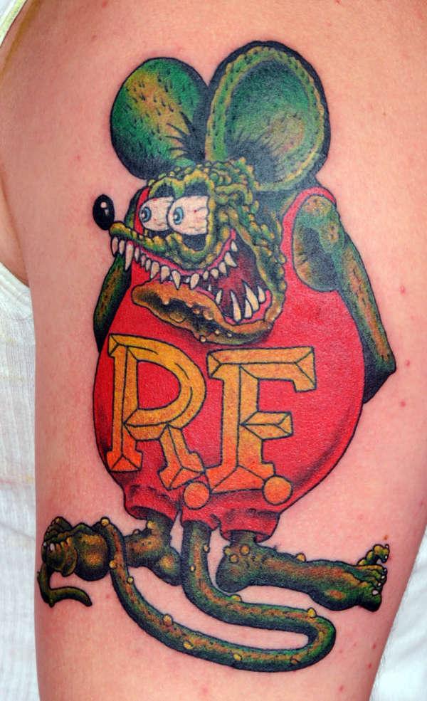 Rat Fink Tattoo Ideas Collection Of Rat Types