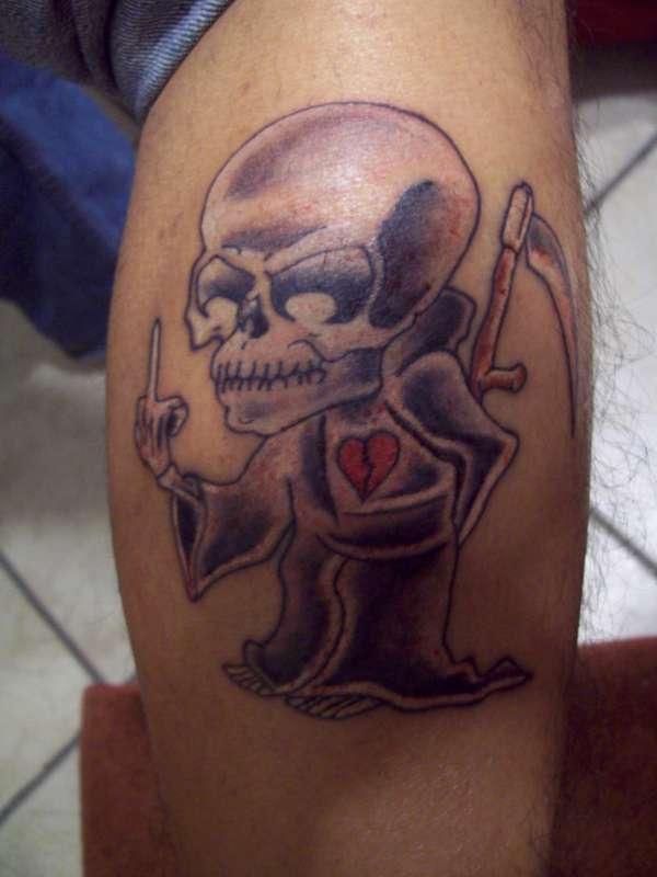 death/love tattoo