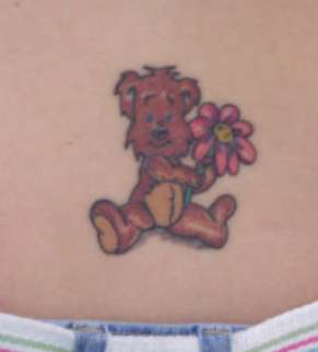 Baby Bear tattoo