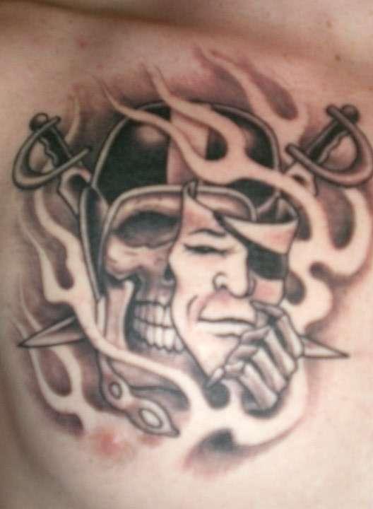 raiders tattoo tattoo
