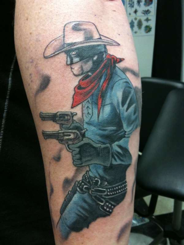 Lone Ranger tattoo