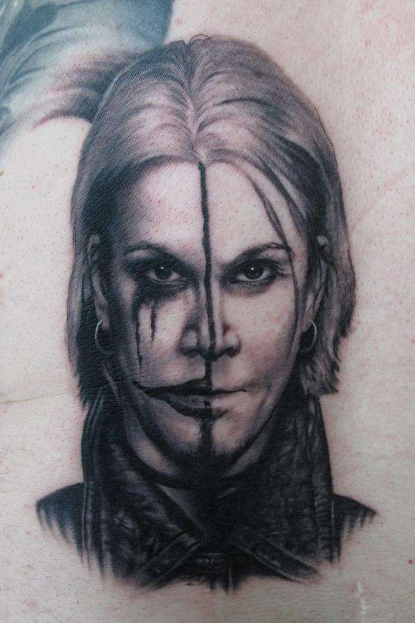 Tattoo By: Bob Tyrrell - John 5 tattoo