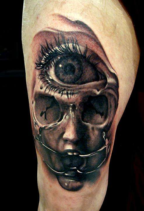 Tattoo By: Nick Chaboya - Can You See What Eye See tattoo