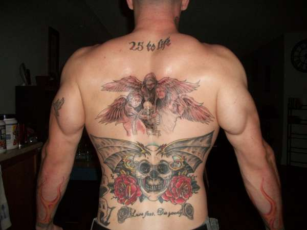 my back tattoo