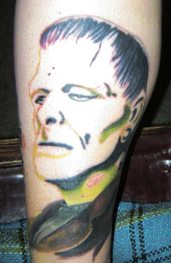 Frankenstein(not finished) tattoo
