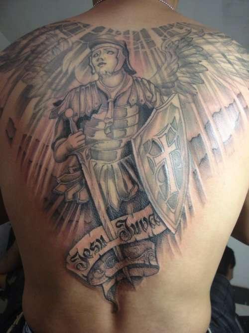 final back piece... tattoo