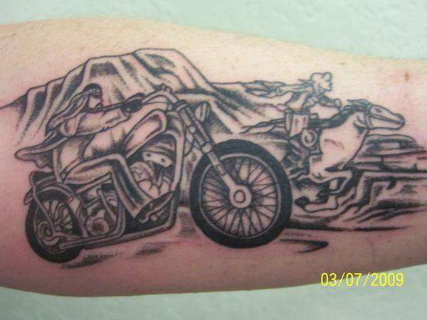 harley tattoo