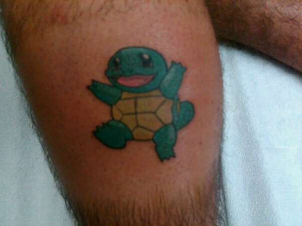 Squirtle tattoo
