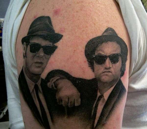 blues brothers tattoo