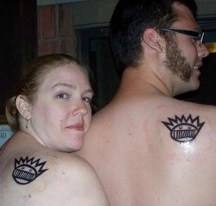 Matching Ween Boognish tattoo