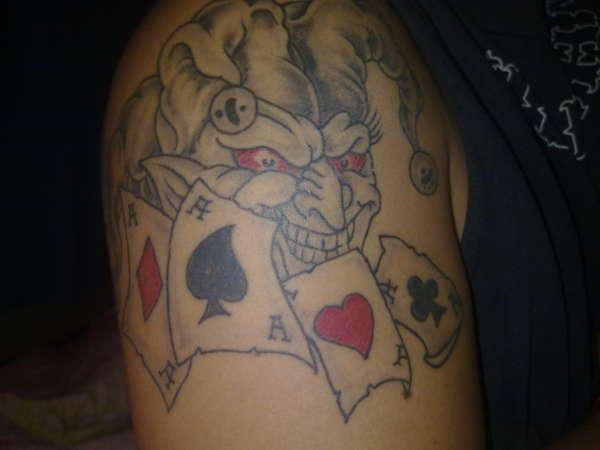joker... tattoo