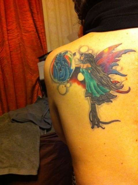 Fairy Dragon Update tattoo