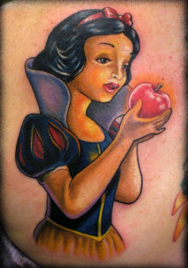 Snow White by Beto Munoz Of Monkeyproink.com tattoo