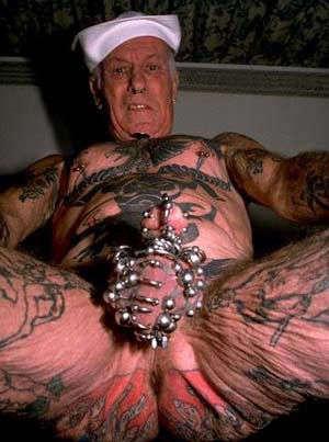 Gross tattoo
