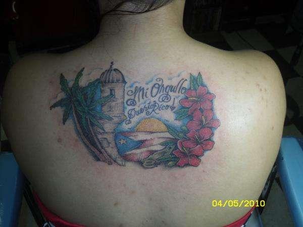 Puerto rico tattoo for Puerto rican tattoo