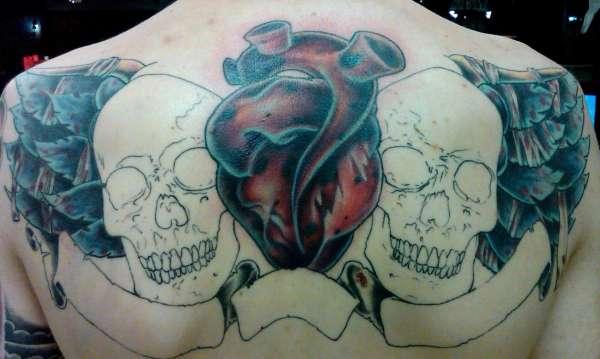 ty Back tattoo