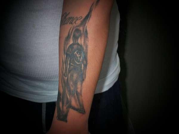 "Bad Religion ""Suffer"" tattoo"