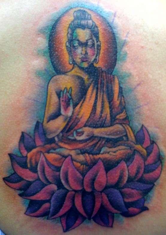 buddha tattoo. Black Bedroom Furniture Sets. Home Design Ideas
