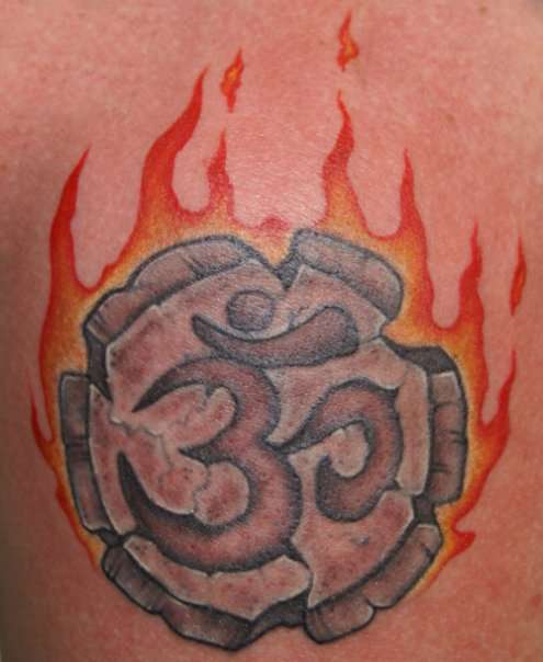 Ohm & Fire Tattoo tattoo
