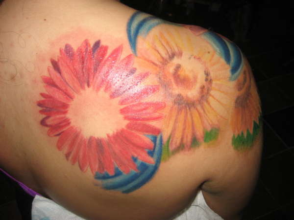 flowers continued! tattoo