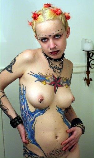 Marie tattoo