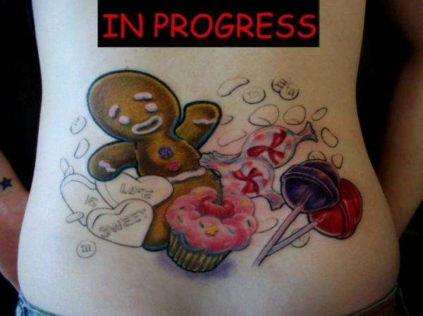 Candyland tattoo