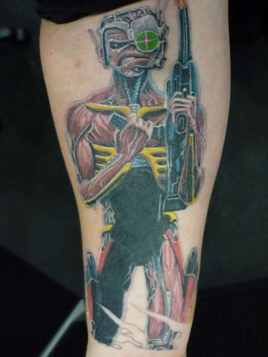 254 best images about Eddie Tattoos on Pinterest | Rock ...  |Iron Maiden Somewhere In Time Tattoo