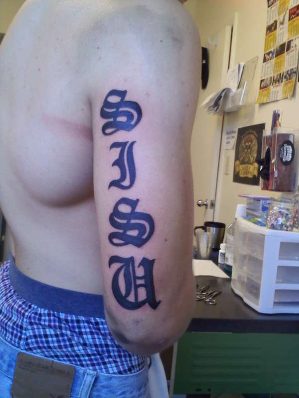 SISU (Finnish word) tattoo