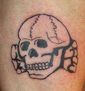 Totenkopf Skull Tattoo tattoo