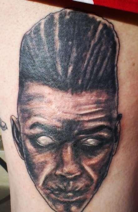 Zombie Nekroman tattoo