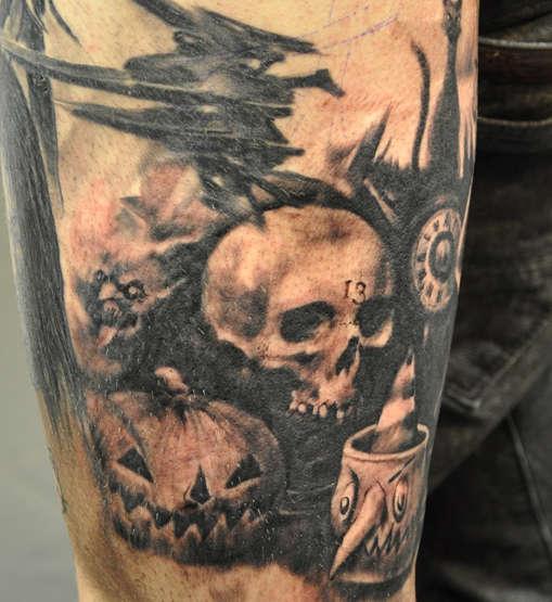 October shadows tattoo