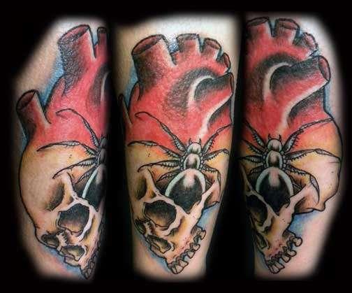 Widow maker tattoo