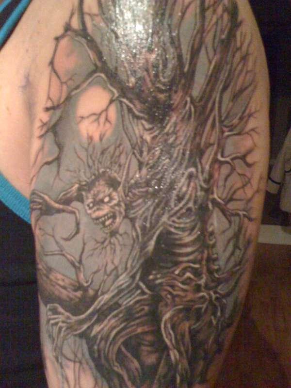fear of the dark, iron maiden tattoo