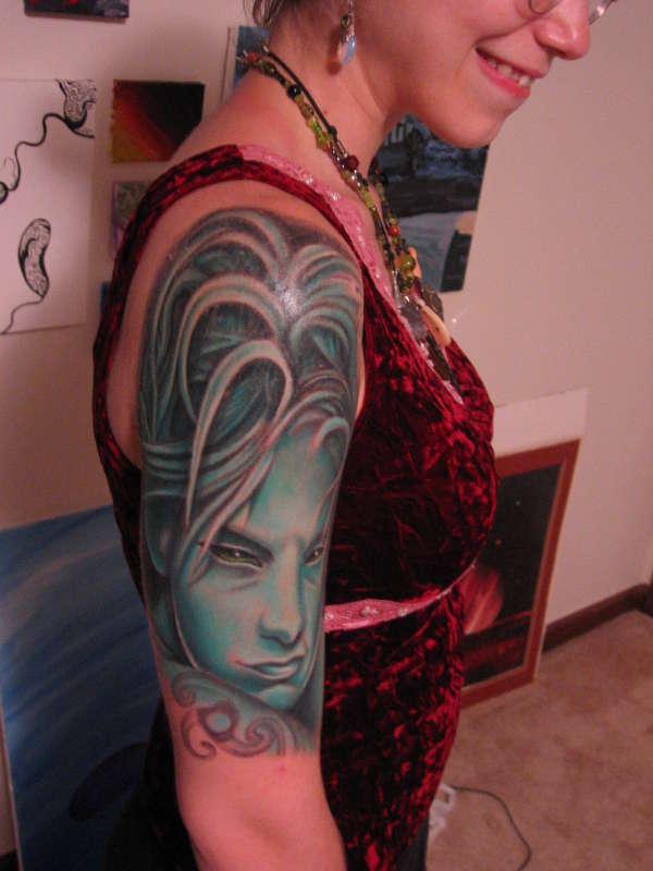 Brian Froud Pixi tattoo