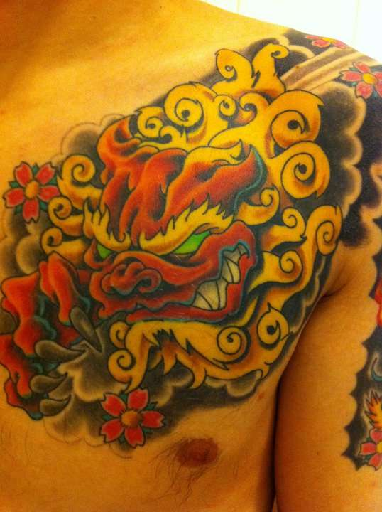 FooDog tattoo