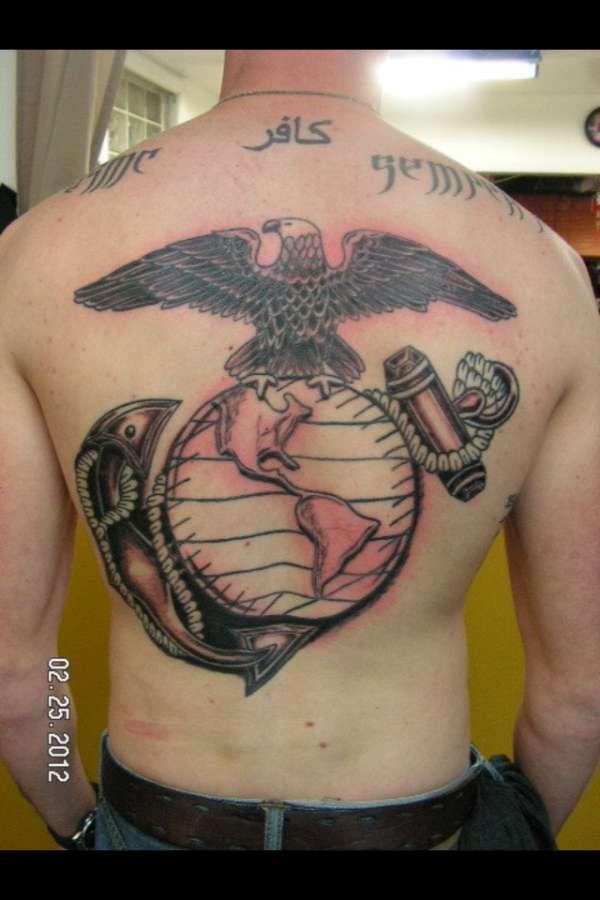 Marine Corps Moto tattoo