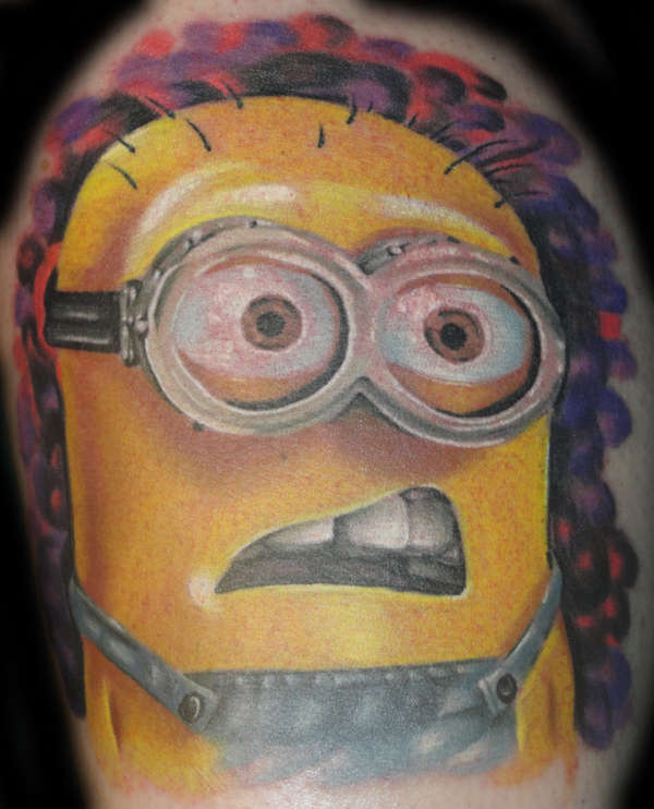 Minion tattoo