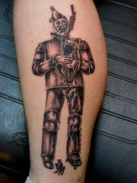 Tin Man tattoo