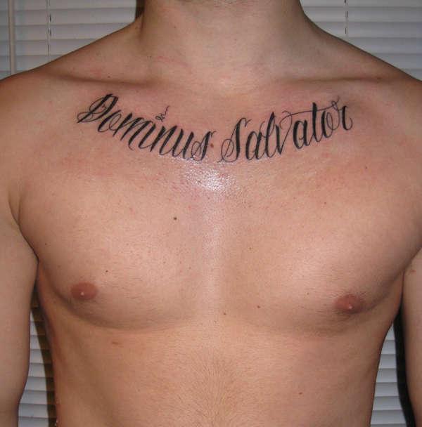 dominus salvator tattoo