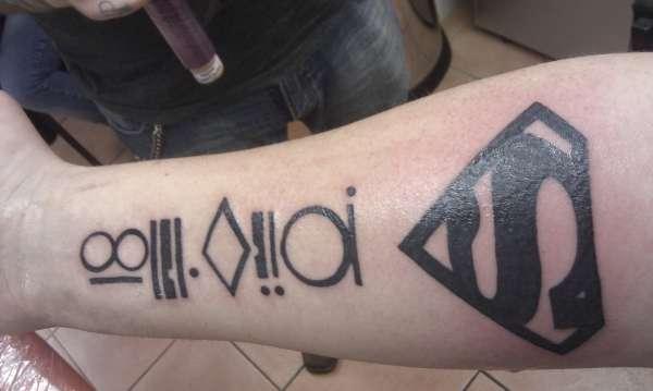 Kryptonian Tattoo