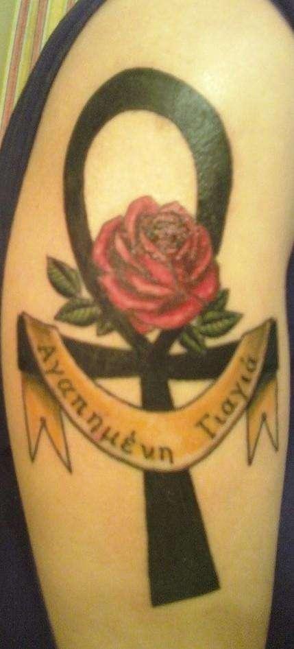 Ankh Memorial Tattoo tattoo