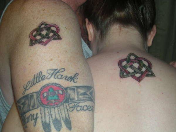 celtic love knot tattoo