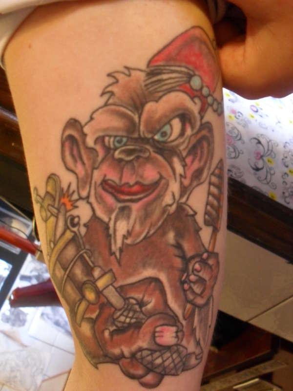 monkey magic tattoo