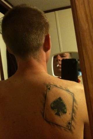 Ace of Spades. tattoo
