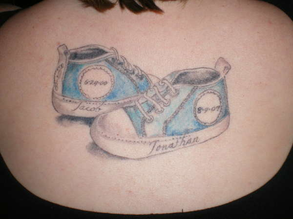 Baby Sneakers tattoo