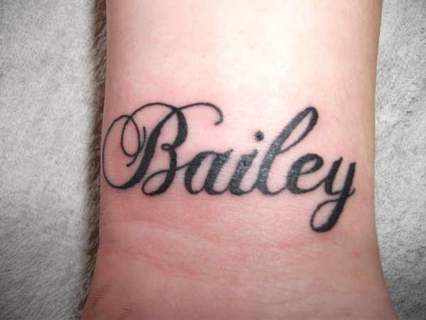 Bailey tattoo