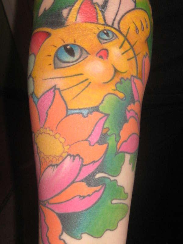 Jap Cat !!! tattoo