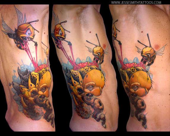 Symbiotic Romanticism tattoo