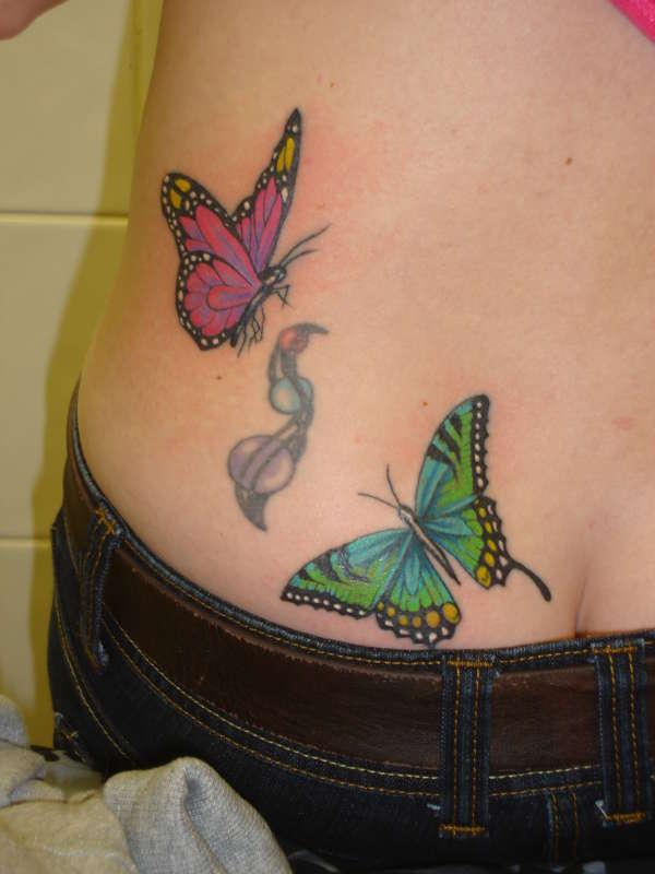 butterflys tattoo