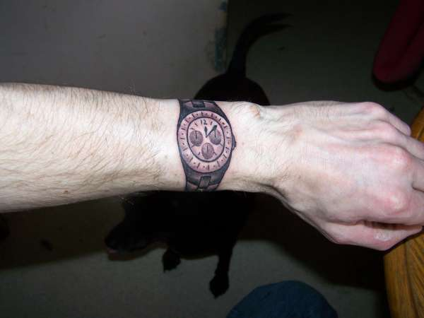 Watch tattoo tattoo